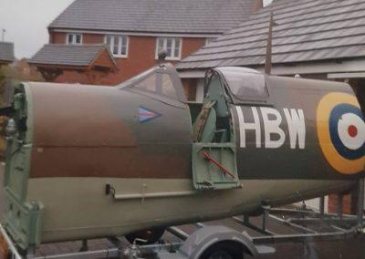 Spitfire exterior