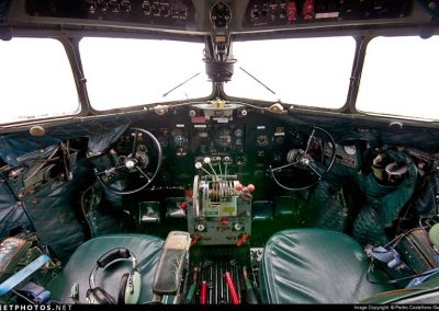 c47 cockpit