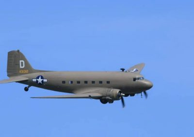 DC3 in flight