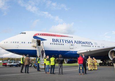 New Boeing 747 Exterior