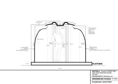 Jet Set Technical Drawing